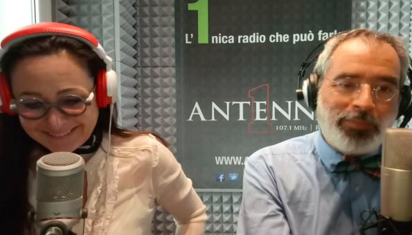 Parliamo di Atrofia Vaginale su Radio Antenna1 con il professore Emanuele Jannini