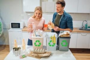 riciclo dei rifiuti in italia